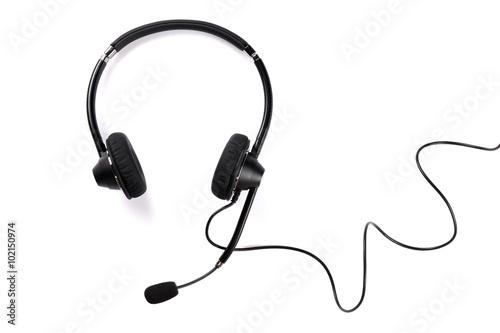 Fotografia  Helpdesk headset