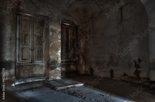 Photo abandoned asylum
