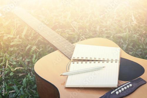 Fotografía  Concept song composer
