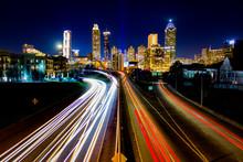 Time Lapse Of Atlanta Traffic