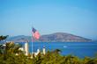 American flag in San Francisco, USA