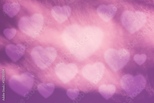 Aluminium Prints Candy pink Valentine Sky background , heart , pink