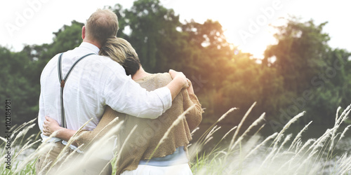 Love Togetherness Couple Passion Relationship Concept Fototapeta