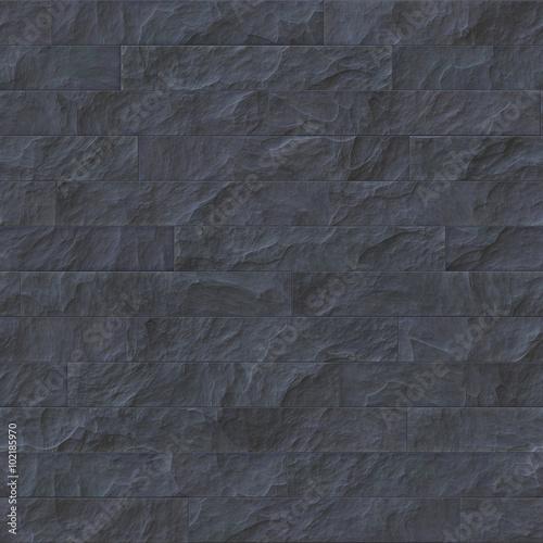 . Seamless dark stone brick texture illustration   Buy this stock