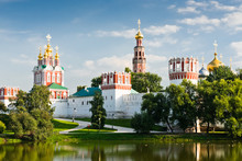 Novodevichy Convent In Moscow,...