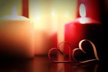 Love Shape Candle