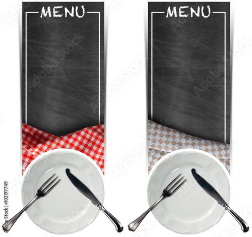dwa-banery-menu-z-tablicami-dwie-puste-tablice