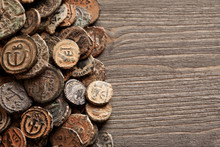 Ancient Byzantine Copper Coins...