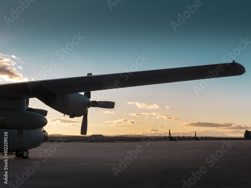 Fotografie, Obraz  Hercules aircraft II