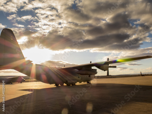 Fotografie, Obraz  Hercules aircraft