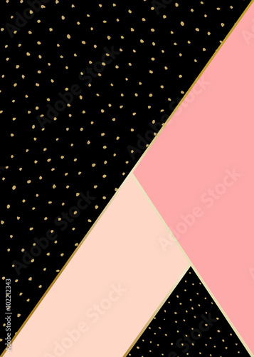 Fotobehang Geometrisch Abstract Geometric Composition