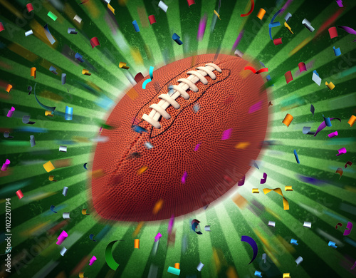 Canvastavla  Football Celebration