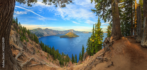 Fotografie, Tablou Crater Lake National Park, Oregon, USA
