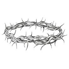 Crown Of Thorns Religious Symb...