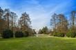 Parco Sempione con vista sfondo Arco della Pace