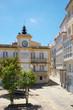 Zentraler Platz in der Altstadt von Cedeira Galicien