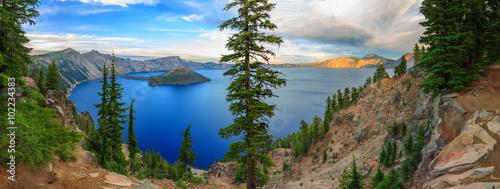 Stampa su Tela Crater Lake National Park, Oregon, USA