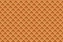 Waffles, Seamless Texture Vector