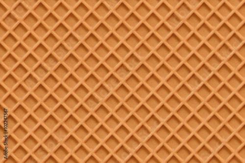 Fotomural Waffles, seamless texture vector