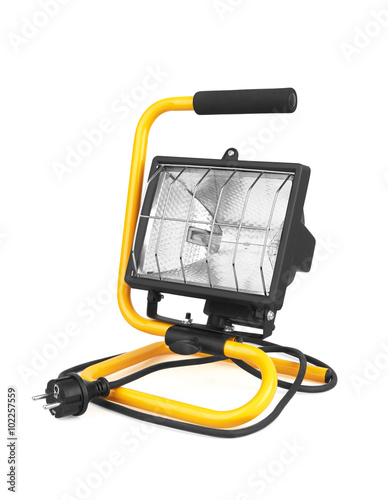 Obraz Halogen work lamp - fototapety do salonu
