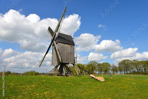 Valokuva  Windmühle, Bockwindmühle, Müller, Mehl, Deutschland, Niedersachsen, Wettmar