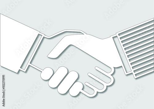 Photo  Anlaşma - el sıkışma 2