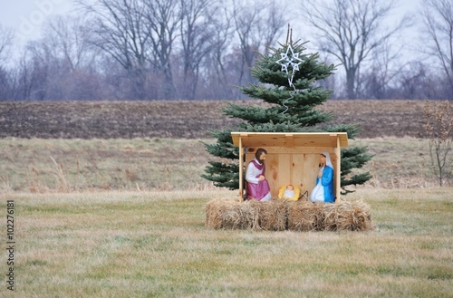 Photo  Nativity Scene