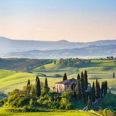Obraz na Szkle Toskania Beautiful landscape in Tuscany, Italy