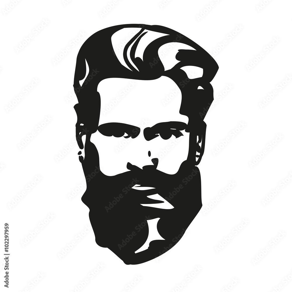 Fototapeta hipster wektor