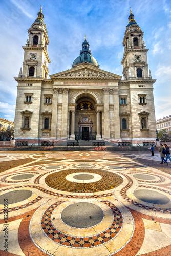 Aluminium Prints Budapest Budapest, St. Stephen's Cathedral. Hungary
