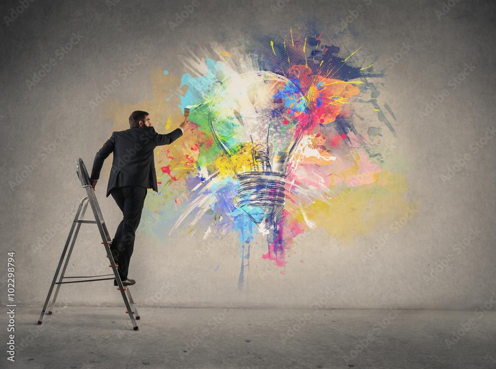 Fototapety, obrazy: Free your creativity