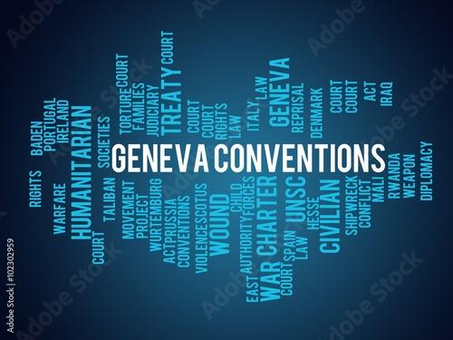 Photo  Geneva Conventions