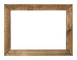canvas print picture - photo frame isolated