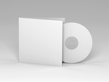 Blank Cd 3d Render (mockup Design)