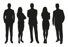 Business People, Set Of Vector...