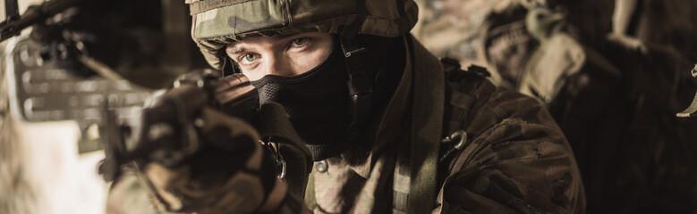 Żołnierz siły specjalnej