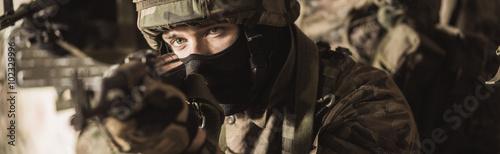 Fotografia  Special force soldier