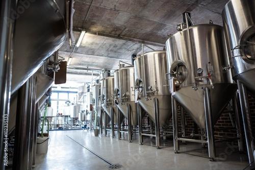 Large vat of beer Poster