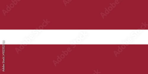 Flag of Latvia Wallpaper Mural