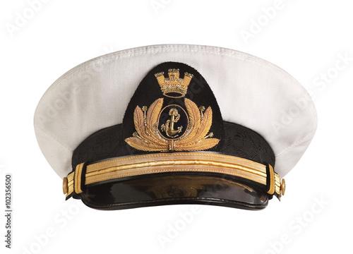 Fotografía  Hat naval officer Front