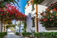 Puerto De Mogan, A Beautiful, Romantic Town On Gran Canaria, Spain