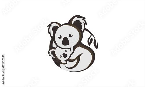 Naklejka premium Koala