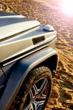 Detail Of Modern Off-road Luxu...