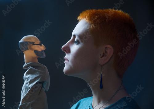 Fotografiet  Who am I, Dr. Freud?