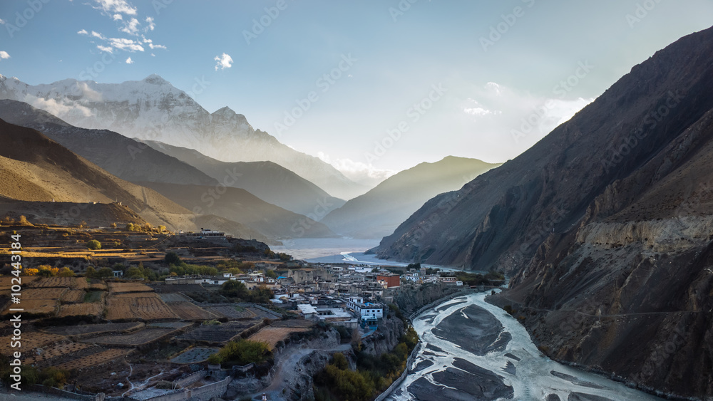 Fototapety, obrazy: Mustang Valley in Northern Nepal