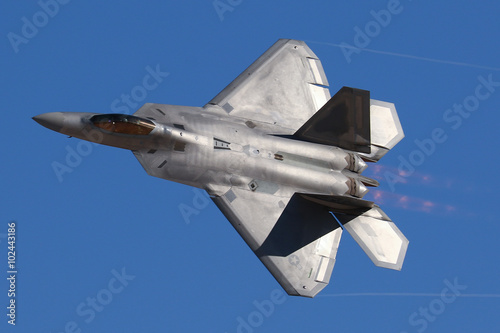 plakat United State Air Force F-22 Raptor