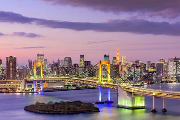 Fototapeta Tokio Tokyo BaySkyline