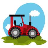 Unsere kleiner Traktorist
