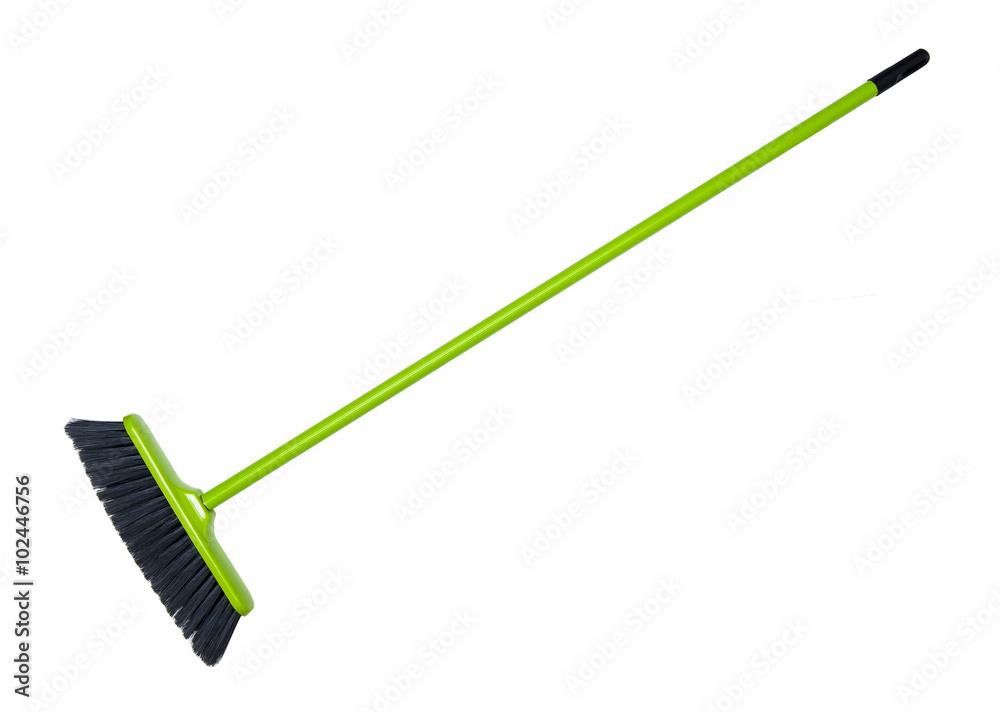Fototapeta Cleaning broom