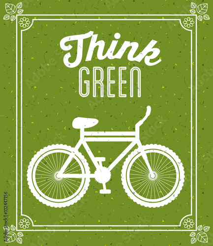 Fototapety, obrazy: think green design